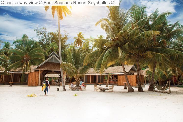 Cast A Way View © Four Seasons Resort Seychelles ©