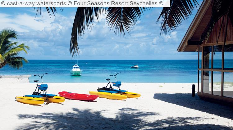 cast a way watersports Four Seasons Resort Seychelles