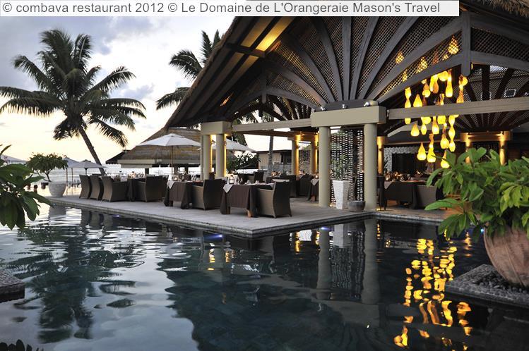 Combava Restaurant © Le Domaine De L'Orangeraie