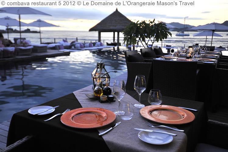 combava restaurant Le Domaine de LOrangeraie