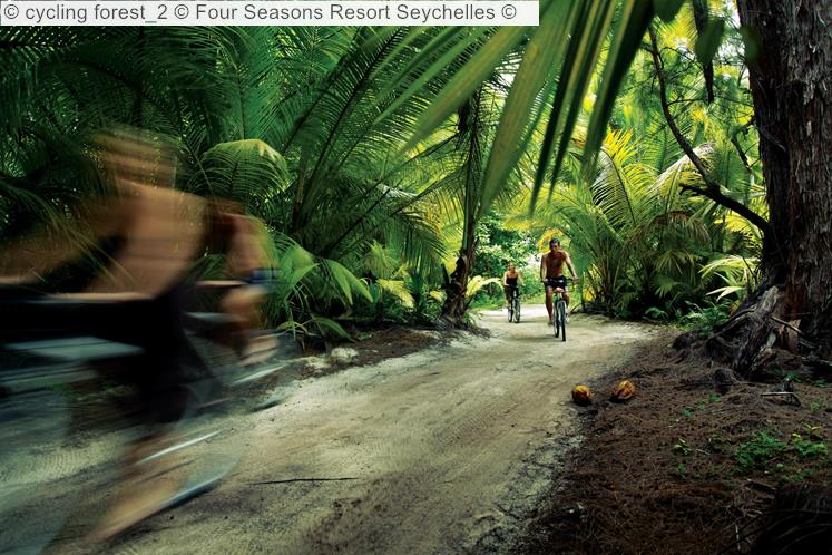 cycling forest Four Seasons Resort Seychelles