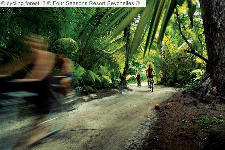 Cycling Forest 2 © Four Seasons Resort Seychelles ©