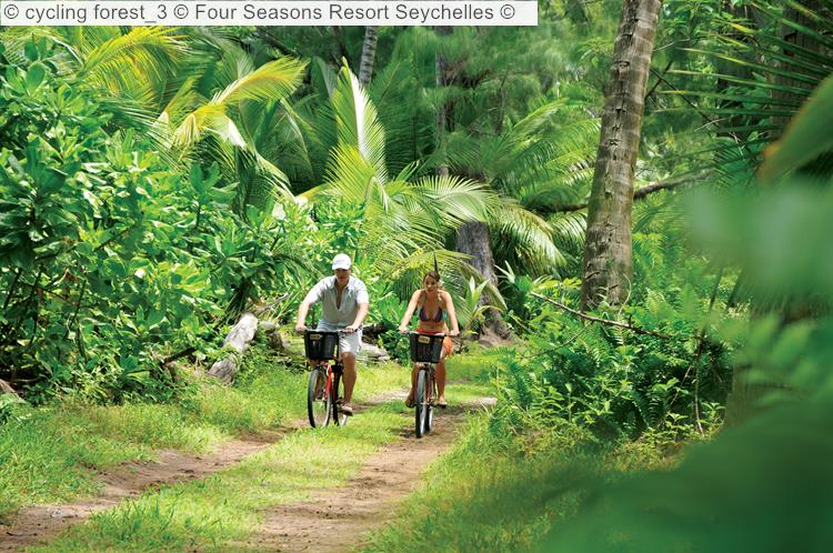 Cycling Forest 3 © Four Seasons Resort Seychelles ©