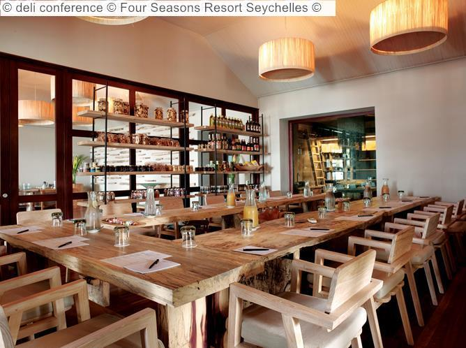 Deli Conference © Four Seasons Resort Seychelles ©