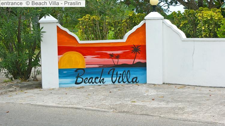 Entrance © Beach Villa Praslin