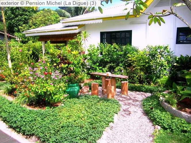 Garden © Pension Michel (La Digue)