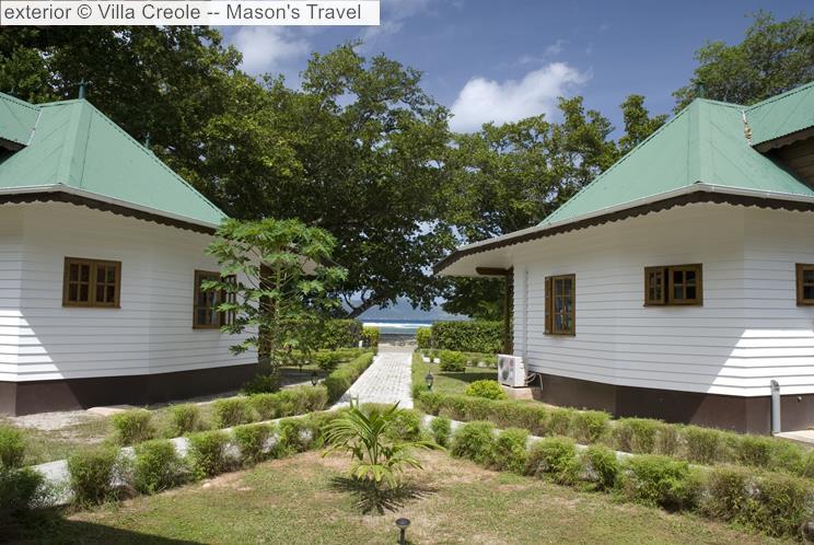Exterior © Villa Creole Mason's Travel