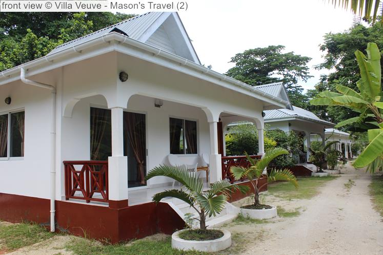 Front View © Villa Veuve Mason's Travel