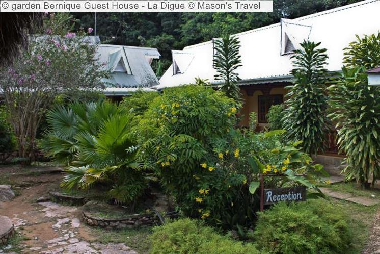 Garden Bernique Guest House La Digue © Mason's Travel
