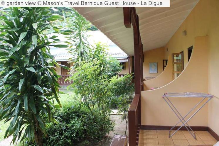 Garden View © Mason's Travel Bernique Guest House La Digue
