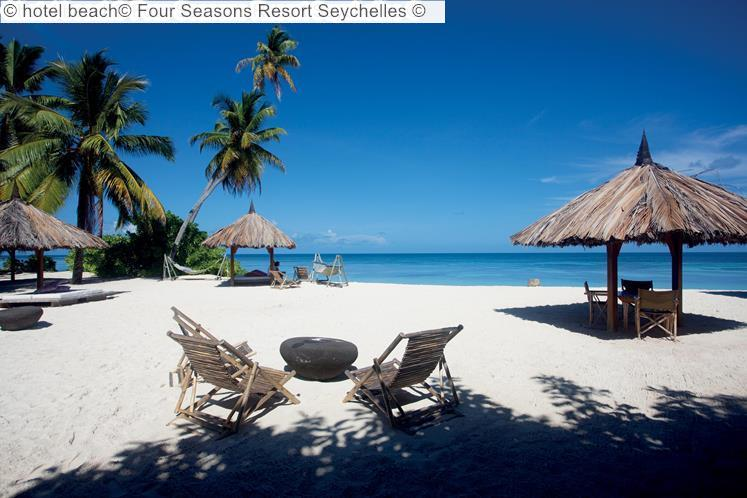 hotel beach Four Seasons Resort Seychelles