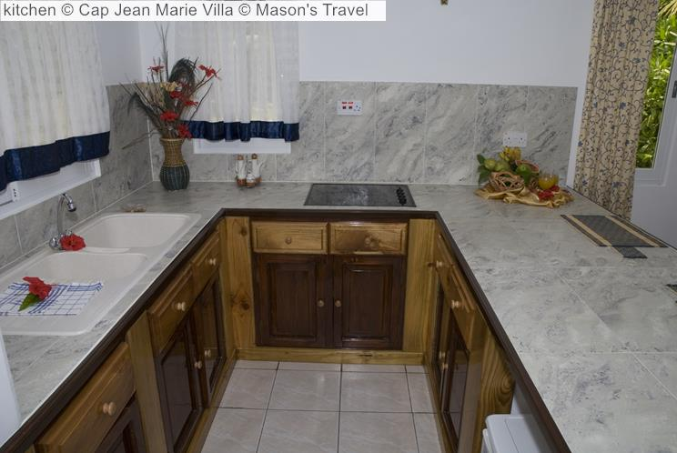 Kitchen © Cap Jean Marie Villa © Mason's Travel