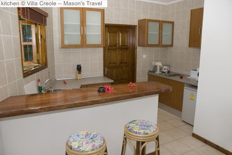 Kitchen © Villa Creole Mason's Travel