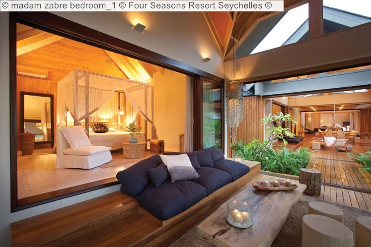 madam zabre bedroom Four Seasons Resort Seychelles
