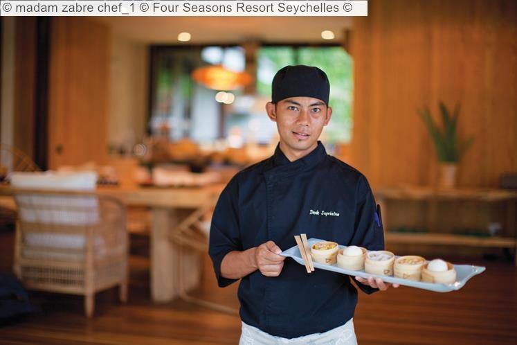 madam zabre chef Four Seasons Resort Seychelles