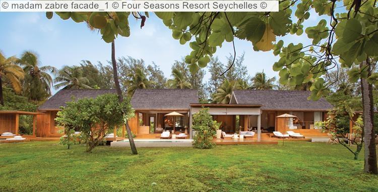 madam zabre facade Four Seasons Resort Seychelles