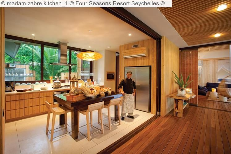 madam zabre kitchen Four Seasons Resort Seychelles