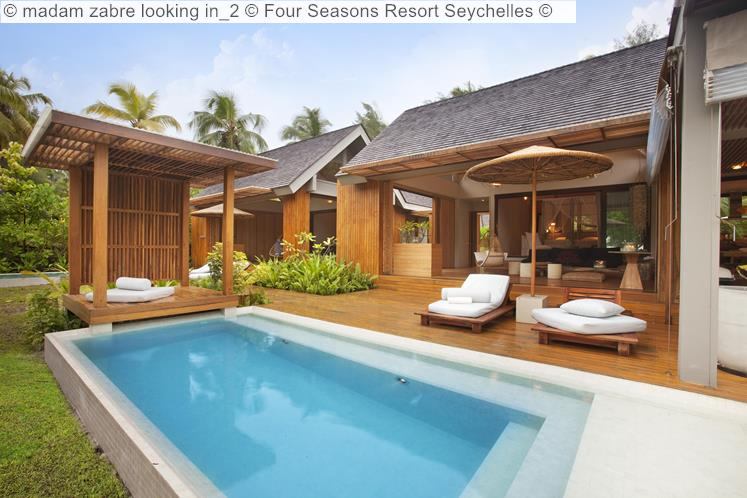 Madam Zabre Looking In © Four Seasons Resort Seychelles ©