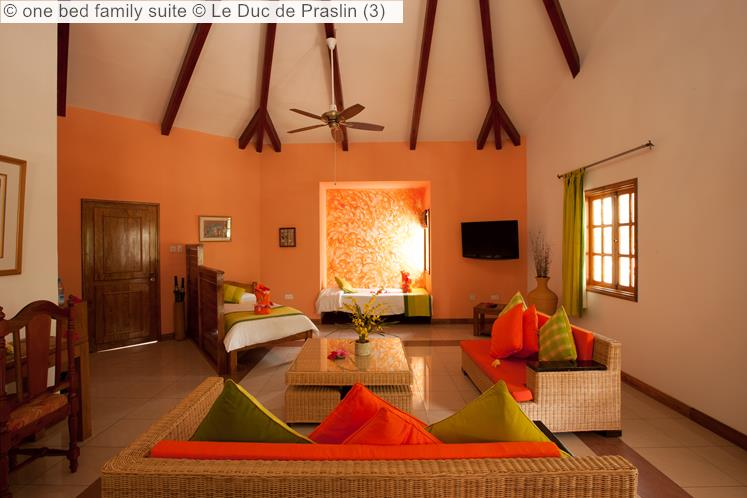 one bed family suite Le Duc de Praslin