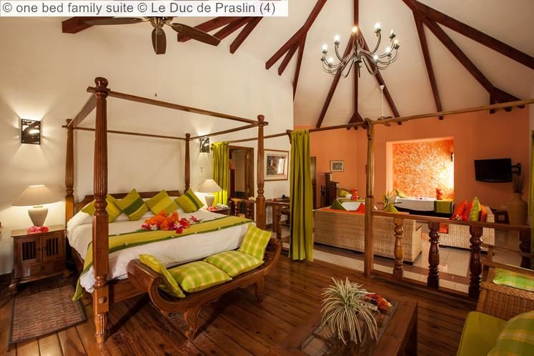 one bed family suite Le Duc de Praslin