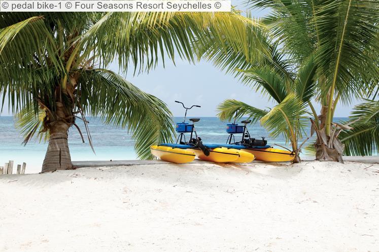 Pedal Bike 1 © Four Seasons Resort Seychelles ©