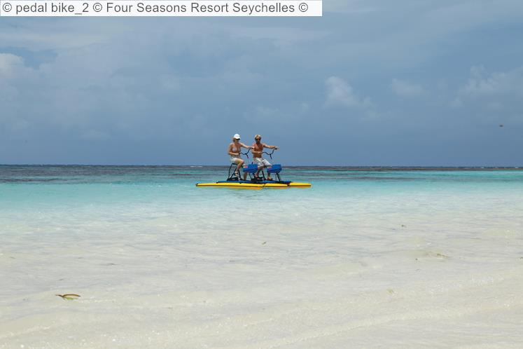 Pedal Bike 2 © Four Seasons Resort Seychelles ©