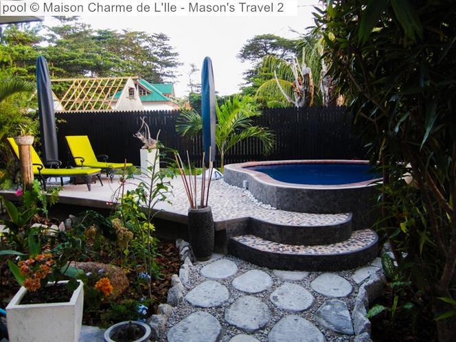 Pool Maison Charme De L'Ile (La Digue)