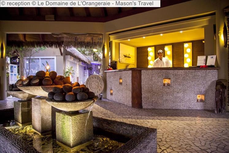 reception Le Domaine de LOrangeraie