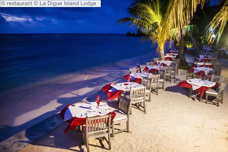 Restaurant © La Digue Island Lodge
