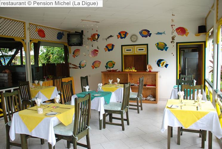 Restaurant © Pension Michel (La Digue)
