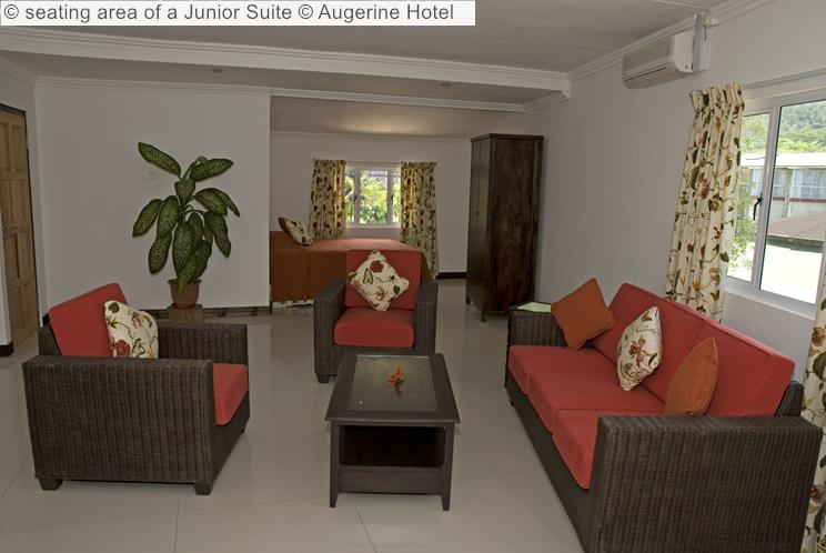 Seating Area Of A Junior Suite © Augerine Hotel