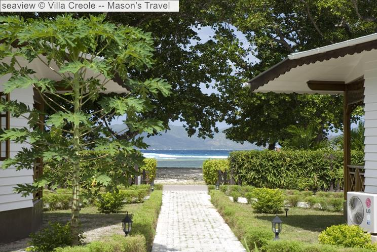 Seaview © Villa Creole Mason's Travel