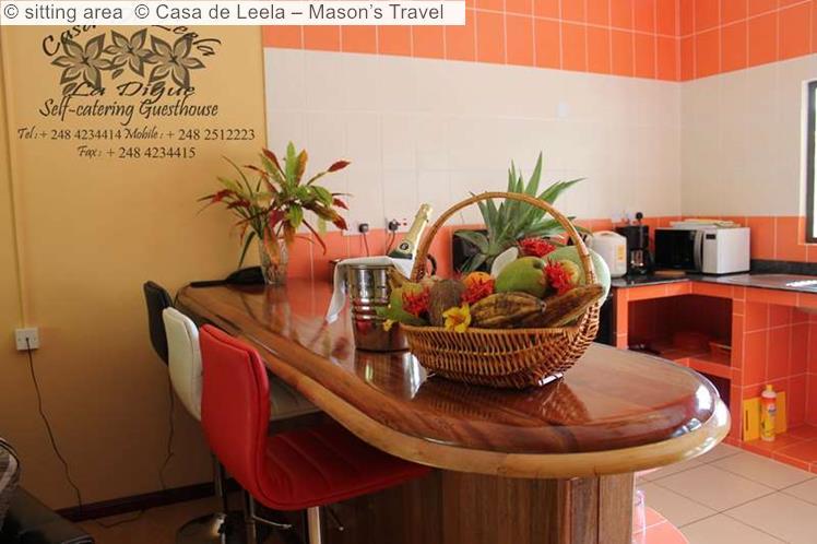 Sitting Area © Casa De Leela – Mason's Travel