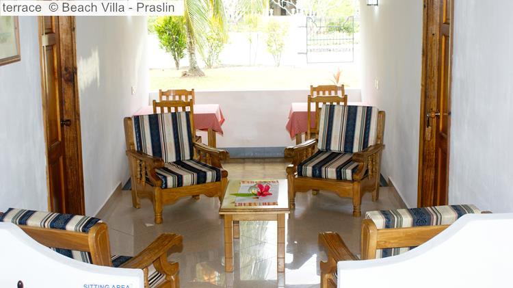 Terrace © Beach Villa Praslin