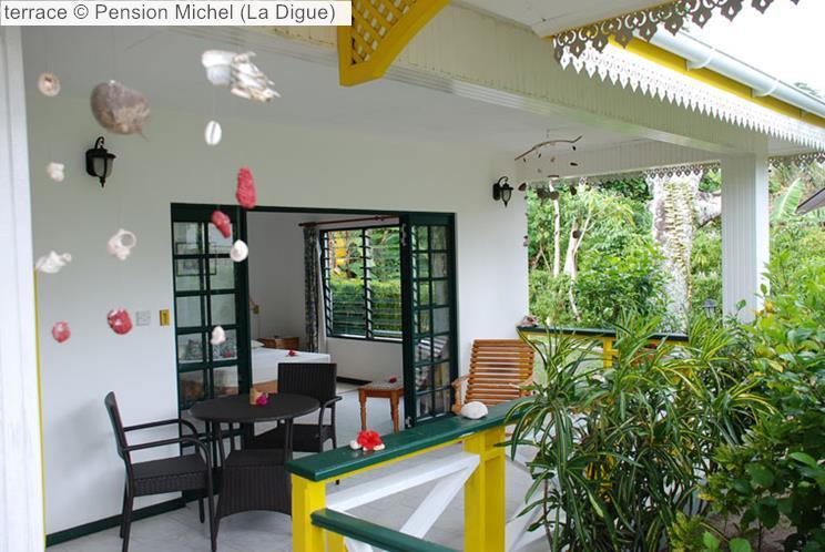 Terrace © Pension Michel (La Digue)
