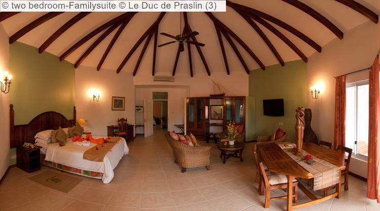 two bedroom Familysuite Le Duc de Praslin