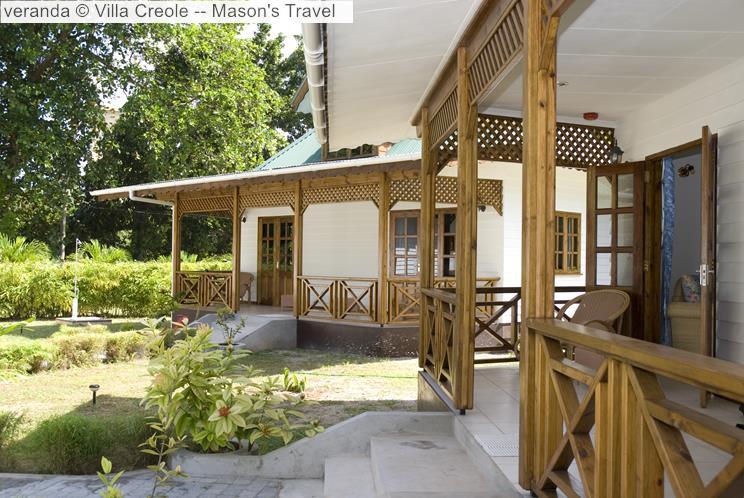 Veranda © Villa Creole Mason's Travel
