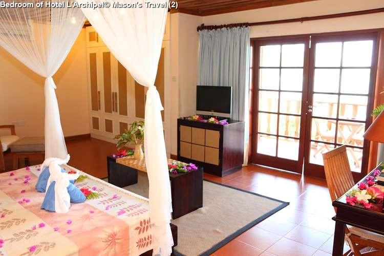 Bedroom Of Hotel LArchipel