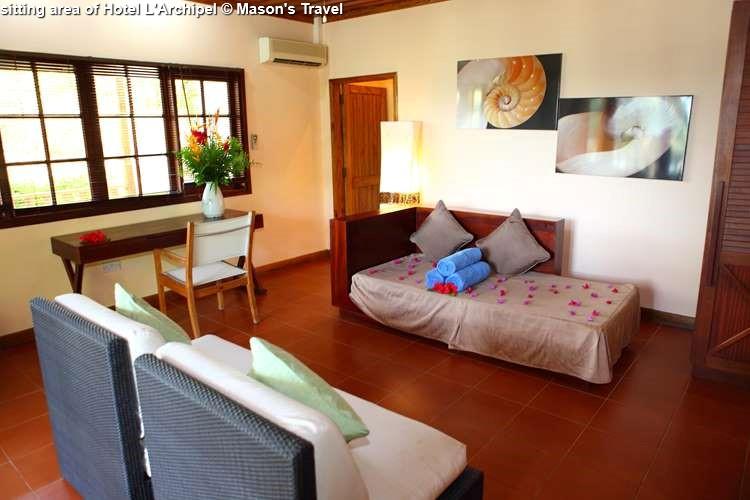 Sitting Area Of Hotel LArchipel