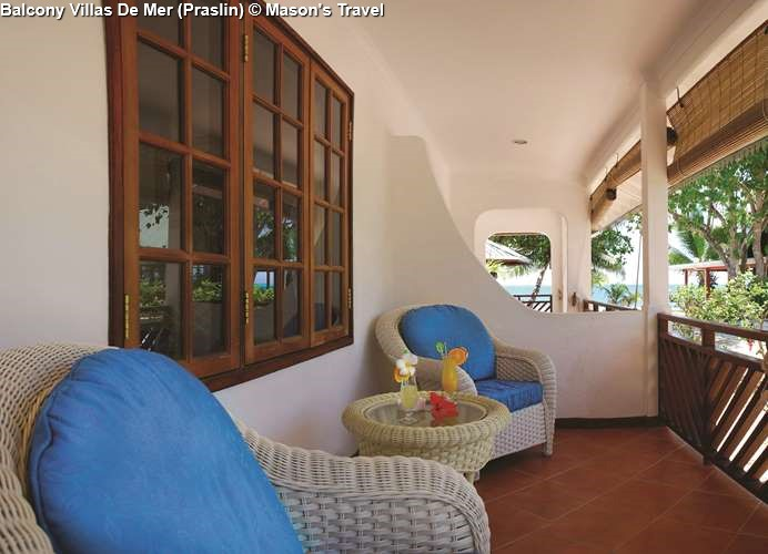 Balcony Villas De Mer Praslin