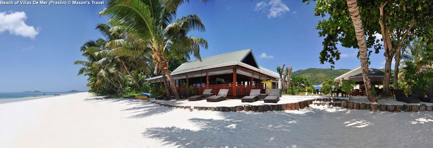Beach of Villas De Mer Praslin