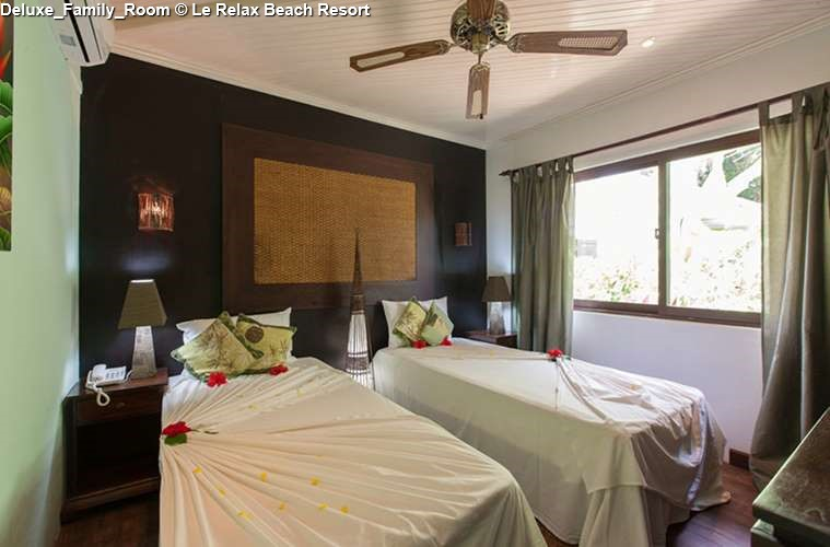Deluxe Family Room Le Relax Beach Resort