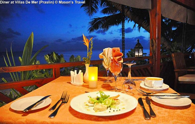 Diner At Villas De Mer Praslin