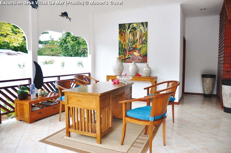 Excursion desk Villas De Mer Praslin