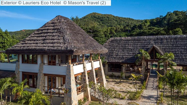 Exterior Lauriers Eco Hotel
