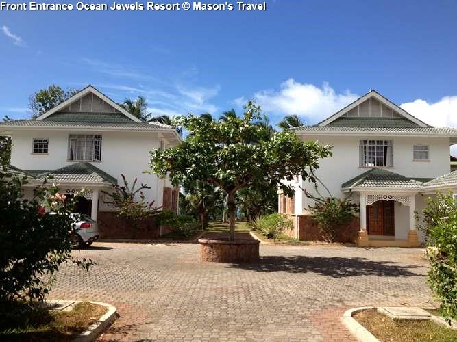 Front Entrance Ocean Jewels Resort