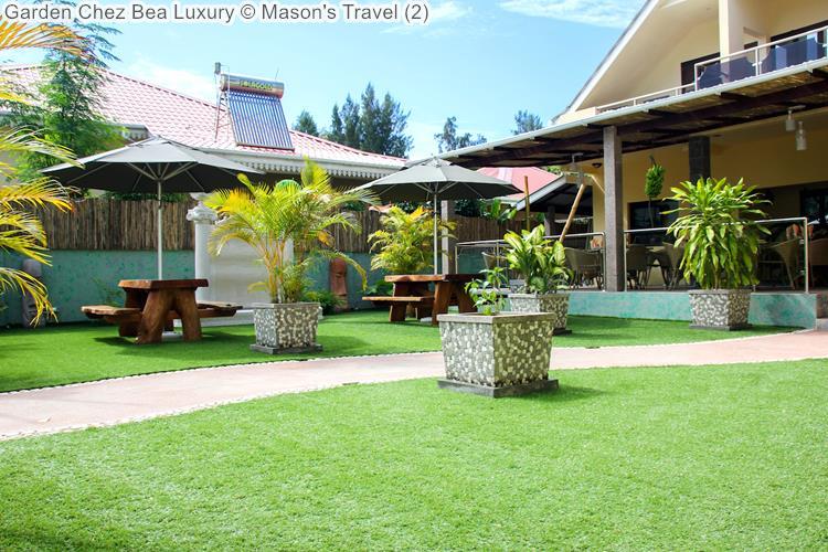 Garden Chez Bea Luxury