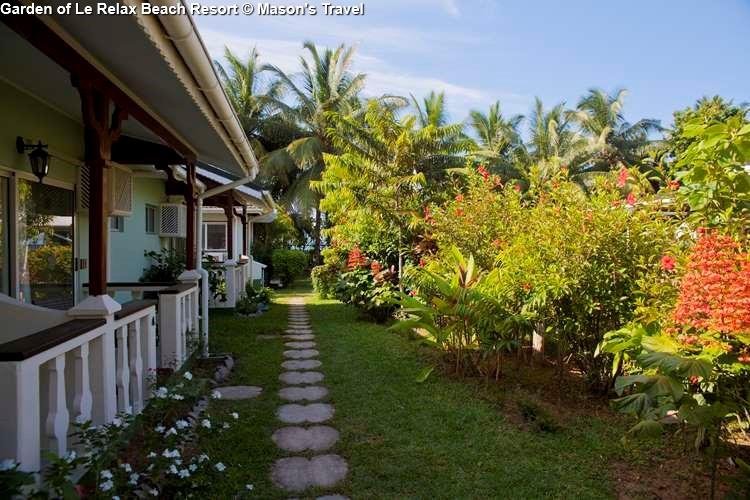 Garden of Le Relax Beach Resort