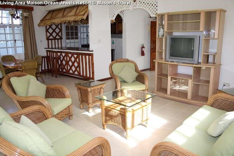 Living Area Maison Ocean Jewels Resort