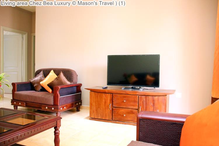 Living area Chez Bea Luxury